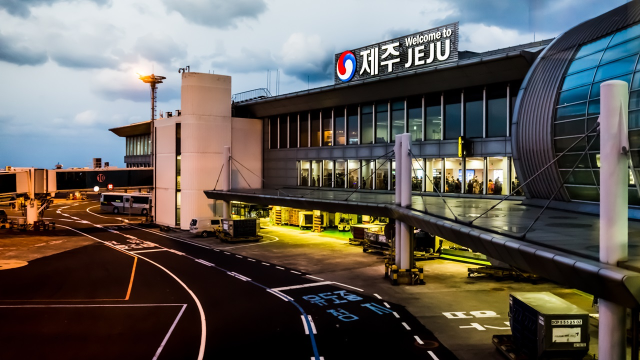 Letiště Čedžu (CJU) | © Boon Leng Teo | Dreamstime.com