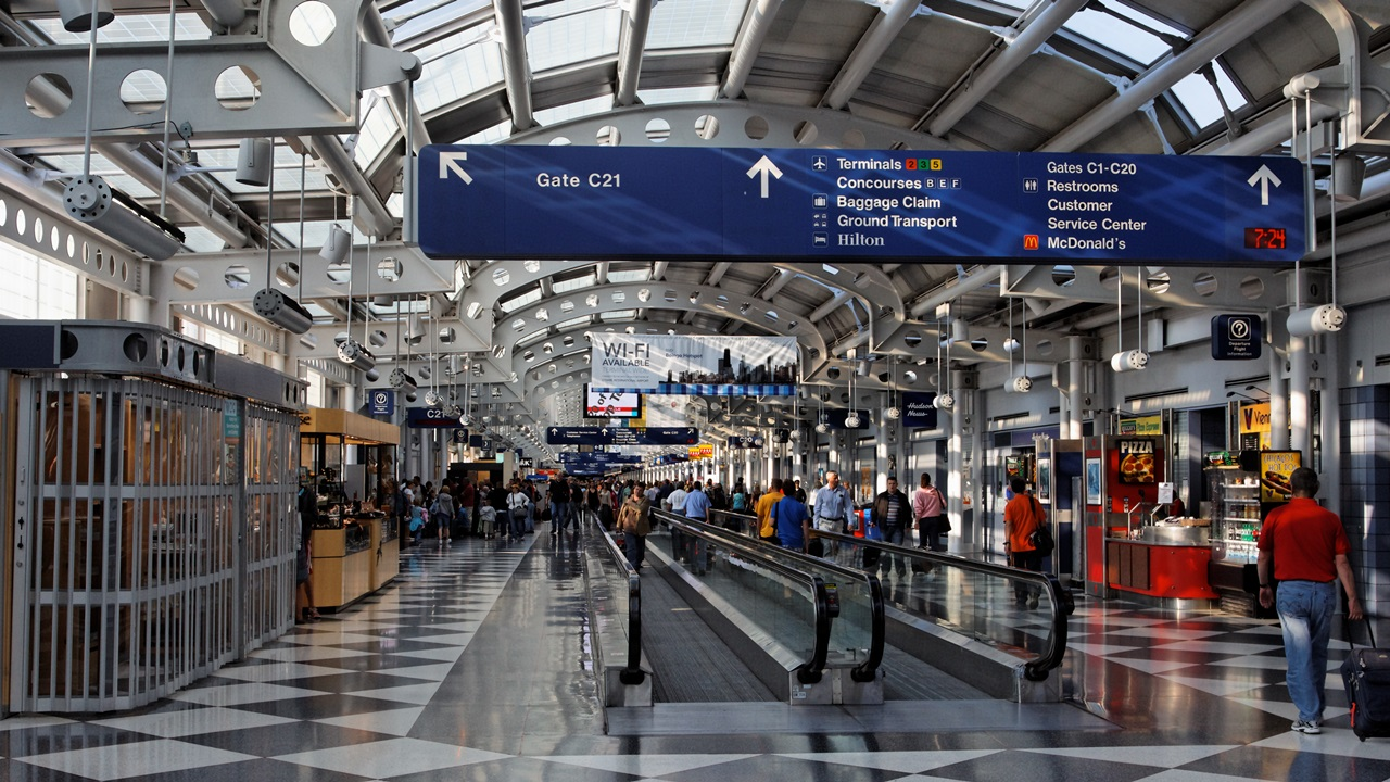 Letiště Chicago O'Hare (ORD) | © Alexandre Fagundes De Fagundes | Dreamstime.com