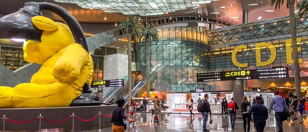 Letiště Doha (DOH) | © Nadeesha Gamage - Dreamstime.com
