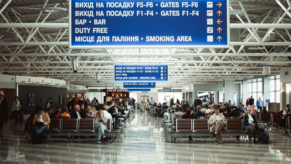 Letiště Kyjev Boryspil (KBP) | © Olesia Opymakh - Dreamstime.com