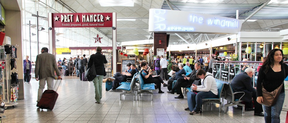 Letiště Londýn Stansted (STN) | © Tupungato - Dreamstime.com