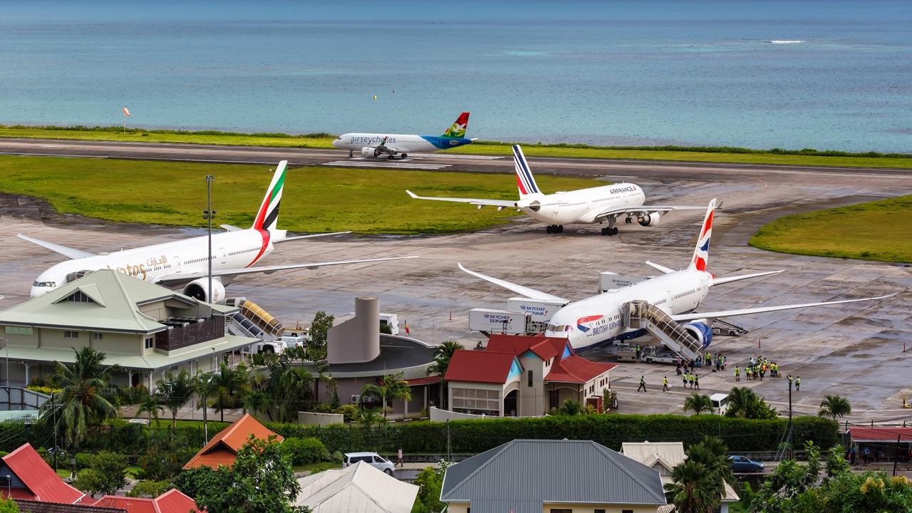Letiště Mahé (SEZ) | © Boarding1now | Dreamstime.com