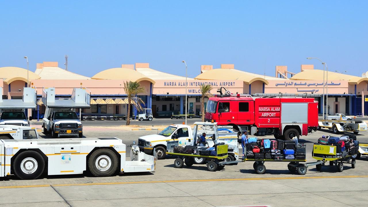 Letiště Marsa Alam (RMF)   © Maudanros   Dreamstime.com