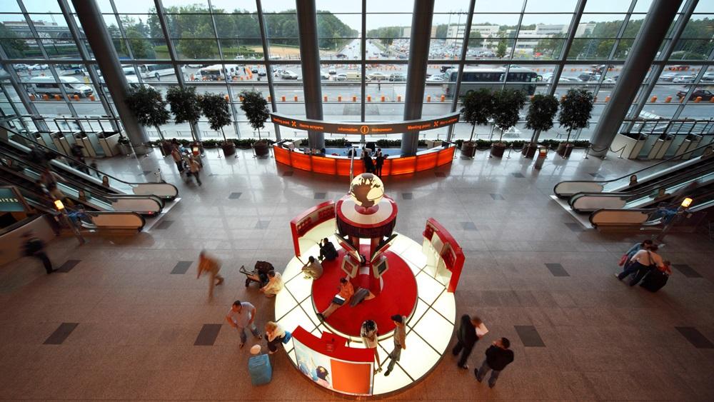 Letiště Moskva Domodědovo (DME)   © Pavel Losevsky - Dreamstime.com