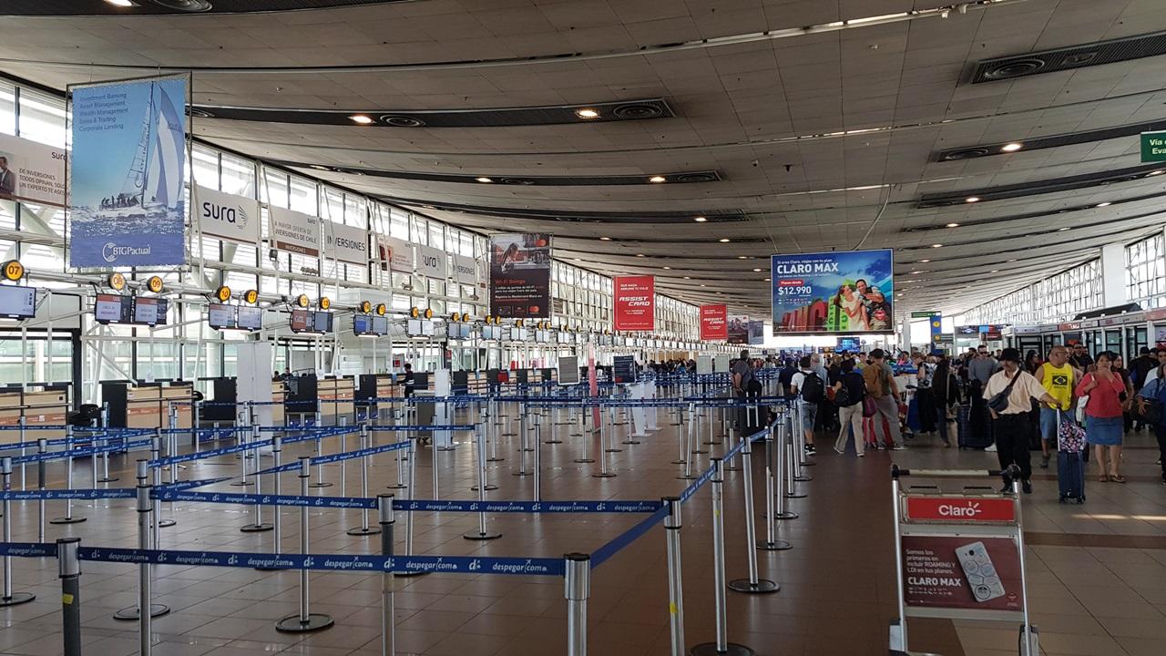 Letiště Santiago de Chile (SCL) | © Marco Ramerini | Dreamstime.com