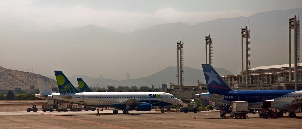 Letiště Santiago de Chile (SCL)   © Phillip Capper / Flickr.com