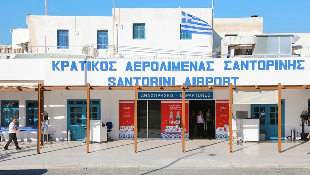 Letiště Santorini (JTR) | © Sergiomonti - Dreamstime.com