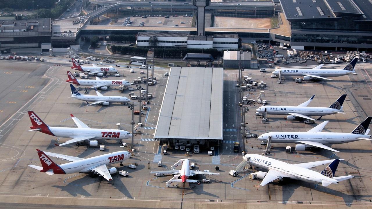 Letiště Sao Paulo (GRU)   © Tupungato   Dreamstime.com