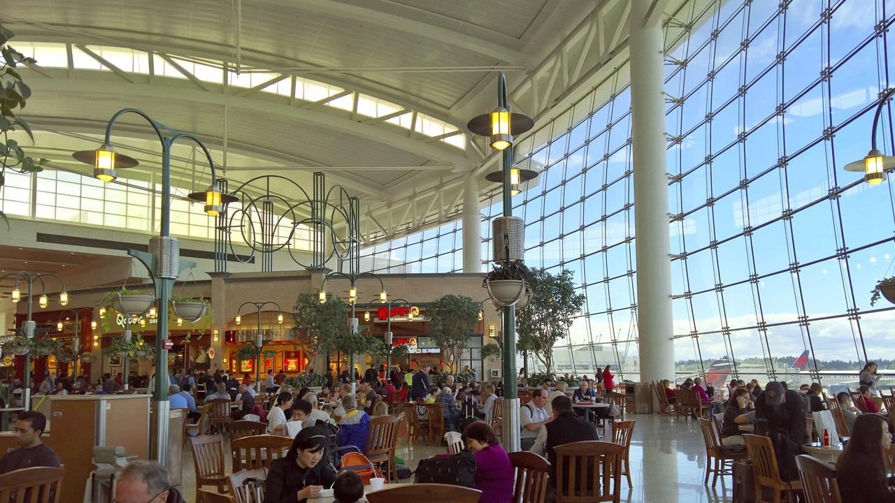 Letiště Seattle (SEA) | © jwpnw | Dreamstime.com