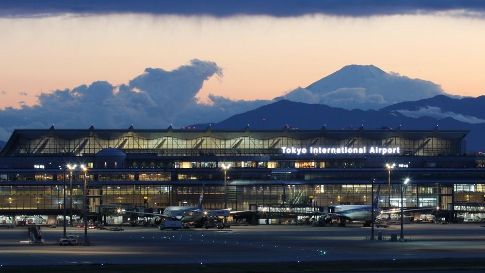 Letiště Tokio Haneda (HND)   © Boarding1now - Dreamstime.com