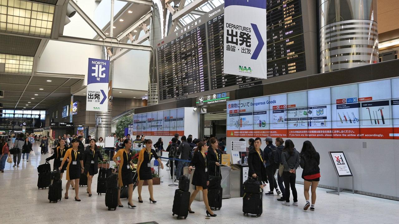 Letiště Tokio Narita (NRT) | © Tupungato | Dreamstime.com