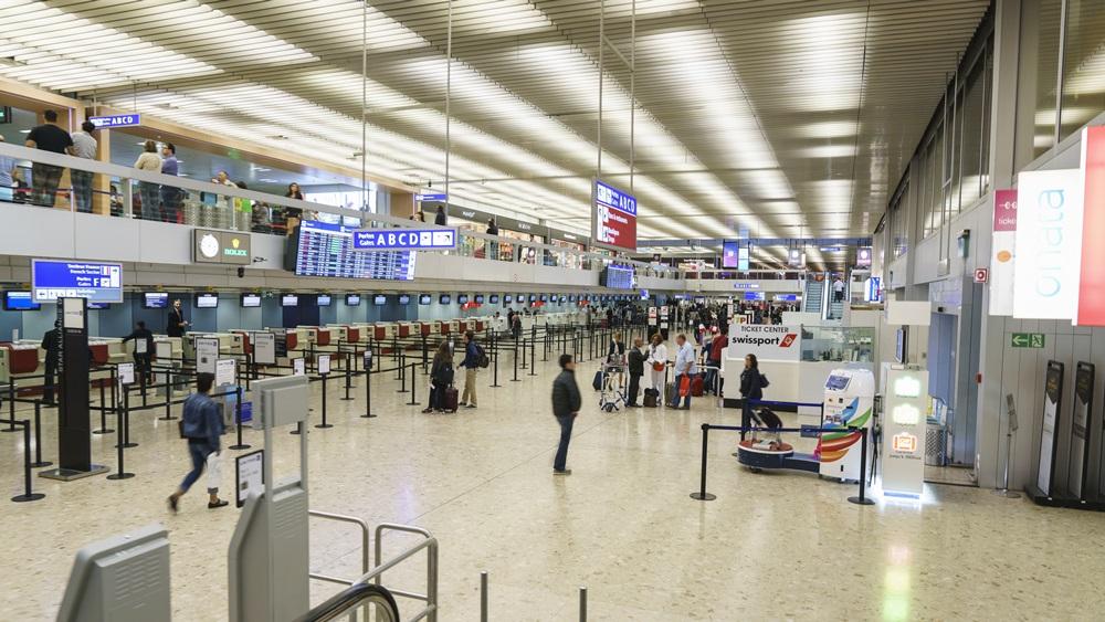 Letiště Ženeva (GVA) | © Hai Huy Ton That - Dreamstime.com