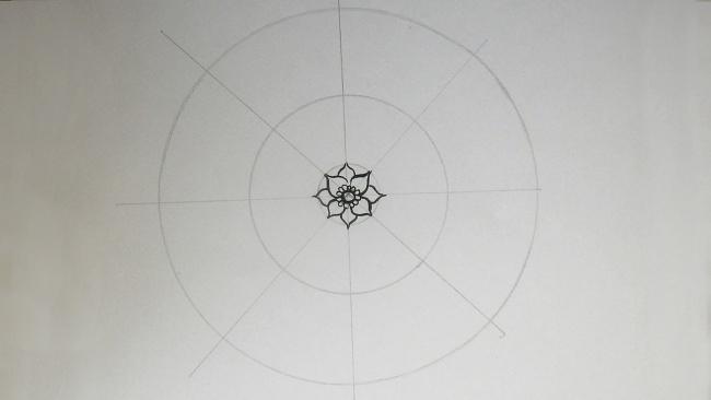 Jak nakreslit mandalu
