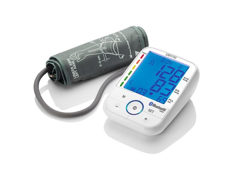 Měřič krevního tlaku sbluetooth Sanitas SBM 67