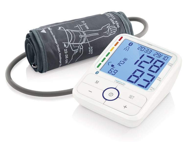 Měřič krevního tlaku sbluetooth Silvercrest SBM 68