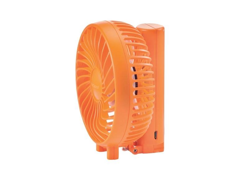 Miniaturní ventilátor Silvercrest SVT3.7 A1