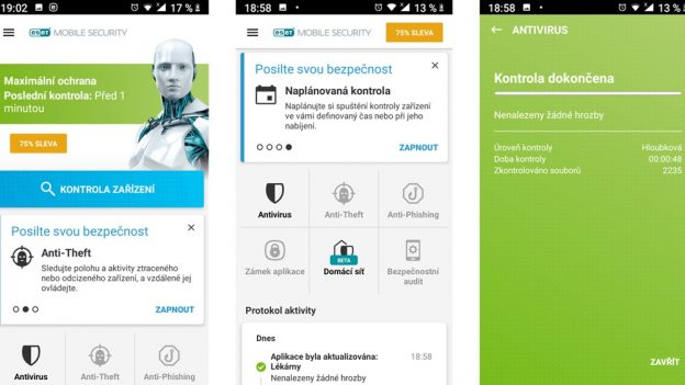 Má váš mobil atablet antivir? Chraňte osobní data