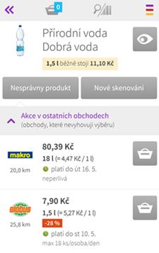Mobilní aplikace Kupi.cz