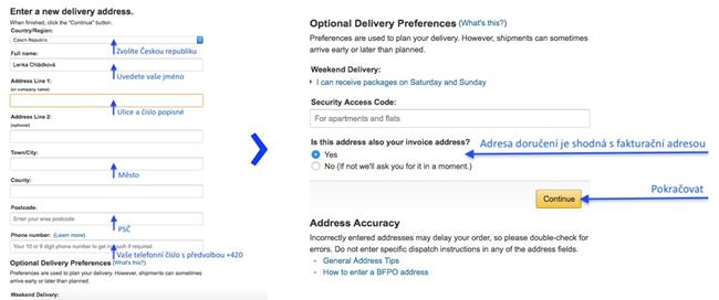 Jak nakupovat na Amazon.co.uk 2020: Kompletní návod v češtině