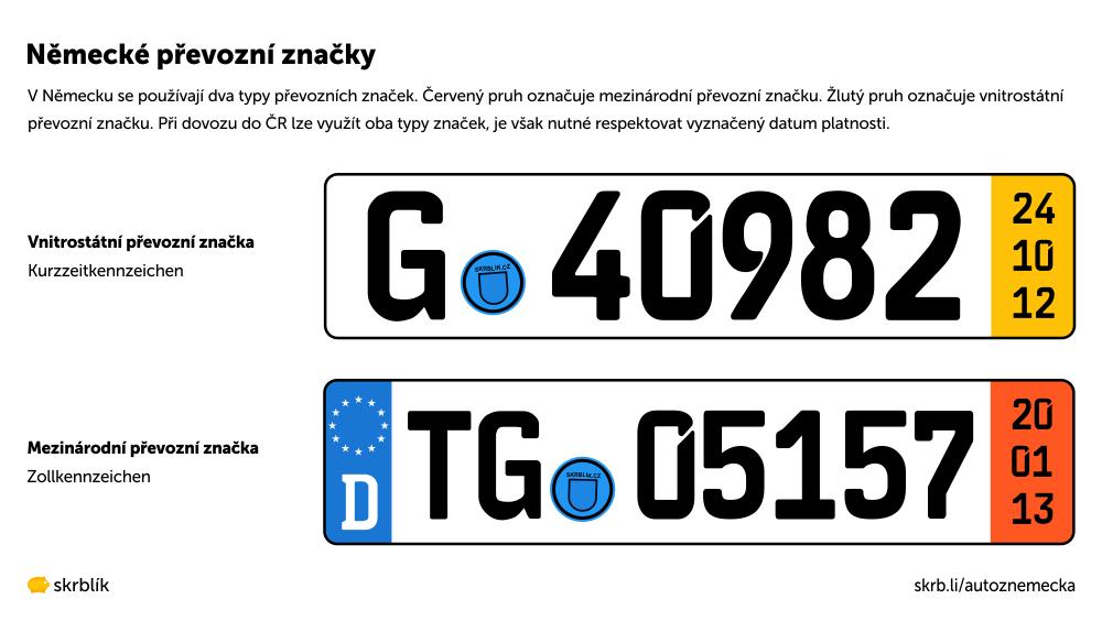 Německé převozní značky