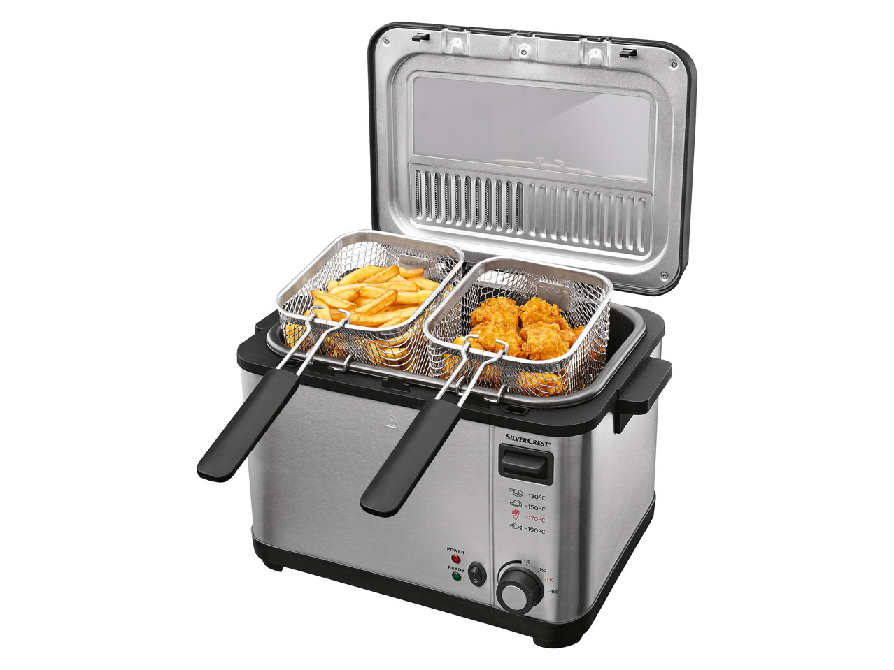 Nerezová fritéza SilverCrest SEF32000 B2