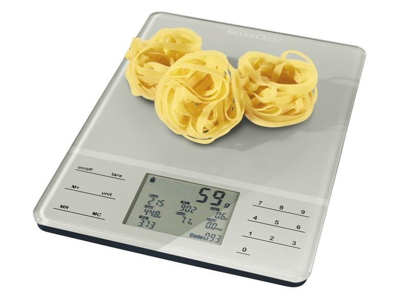 Nutriční kuchyňská váha Silvercrest SNWD 1000 A1