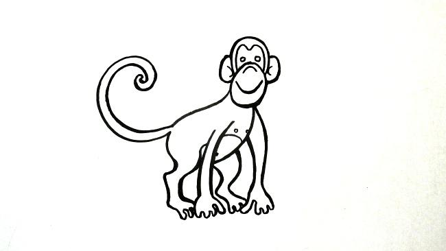 Jak nakreslit opici
