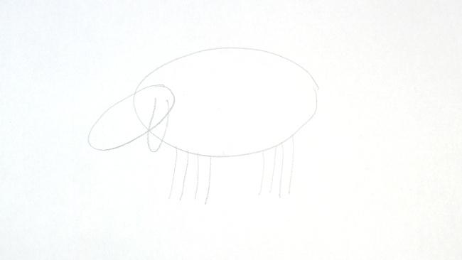Jak nakreslit ovci