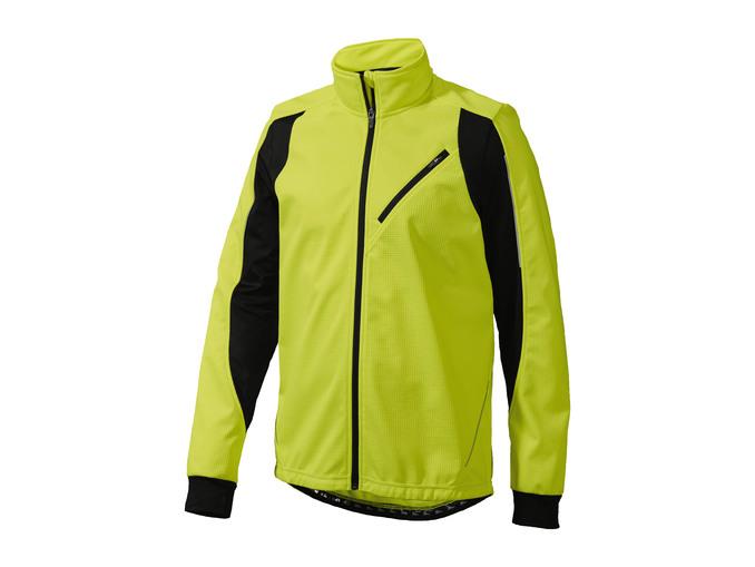 Pánská cyklistická softshellová bunda Crivit