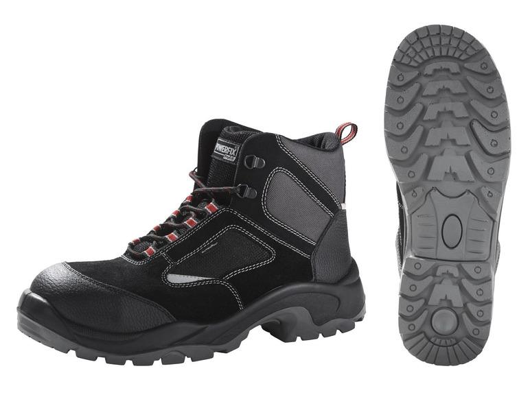 Pánská kožená bezpečnostní obuv Powerfix