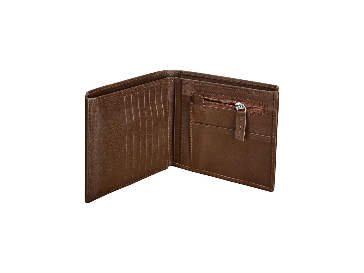 Pánská kožená peněženka Livergy