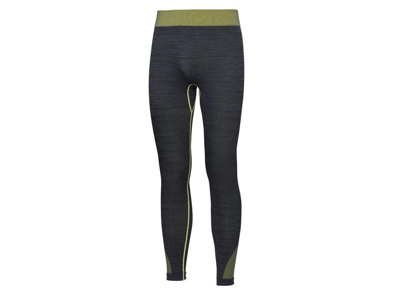 Pánské funkční bezešvé spodní kalhoty Crivit