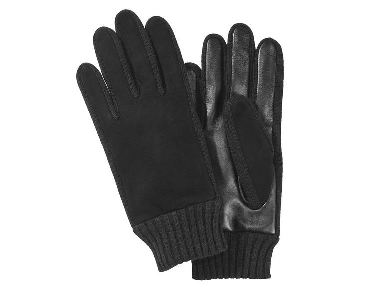 Pánské kožené rukavice Livergy