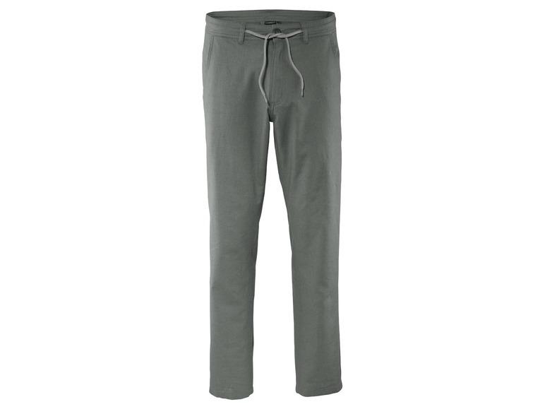 Pánské lněné kalhoty Livergy z Lidlu  c568833b1a