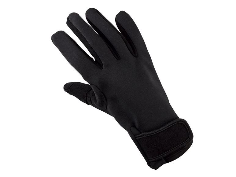 Pánské softshellové pracovní rukavice Powerfix