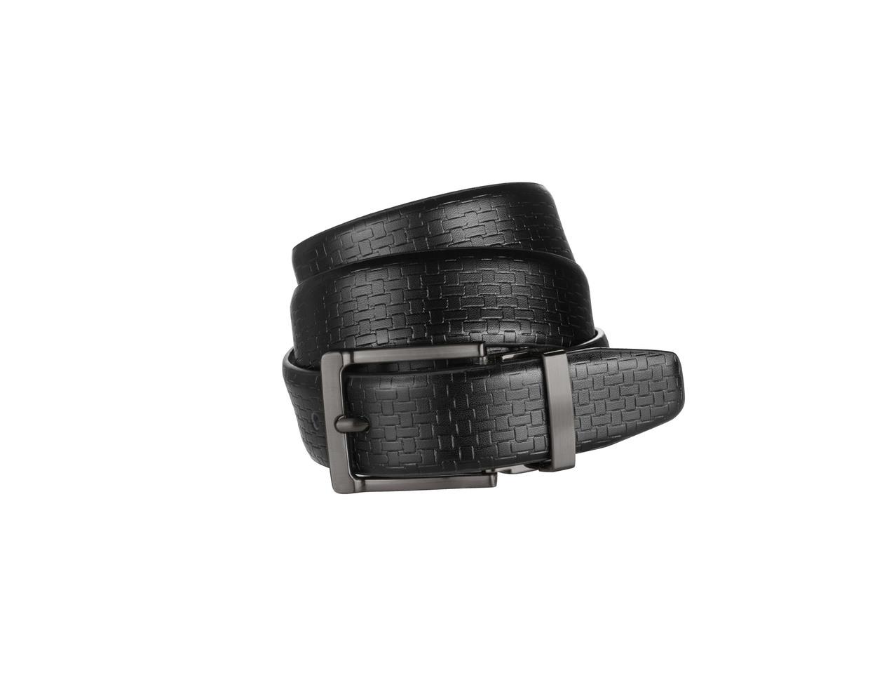 Pánský kožený pásek Livergy