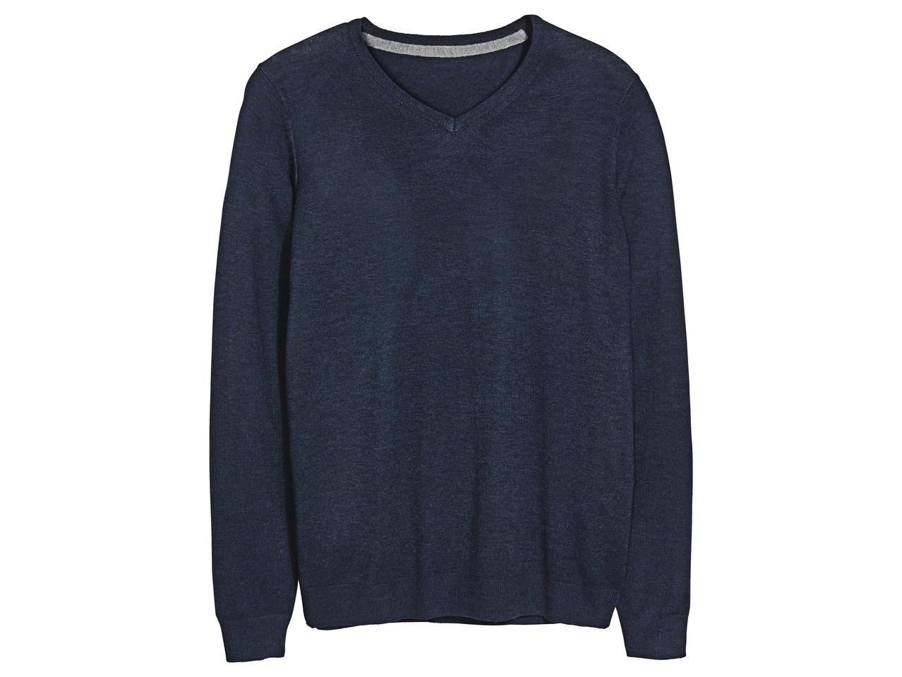 Pánský svetr skašmírem Livergy