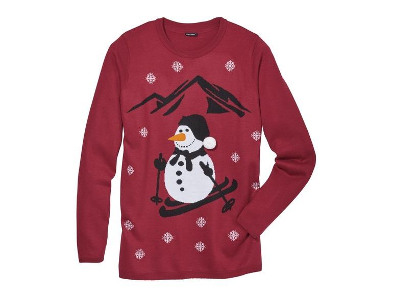 Pánský vánoční svetr Livergy