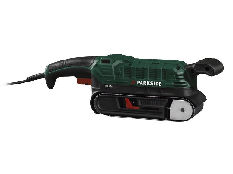 Pásová bruska Parkside PBS 900 C3