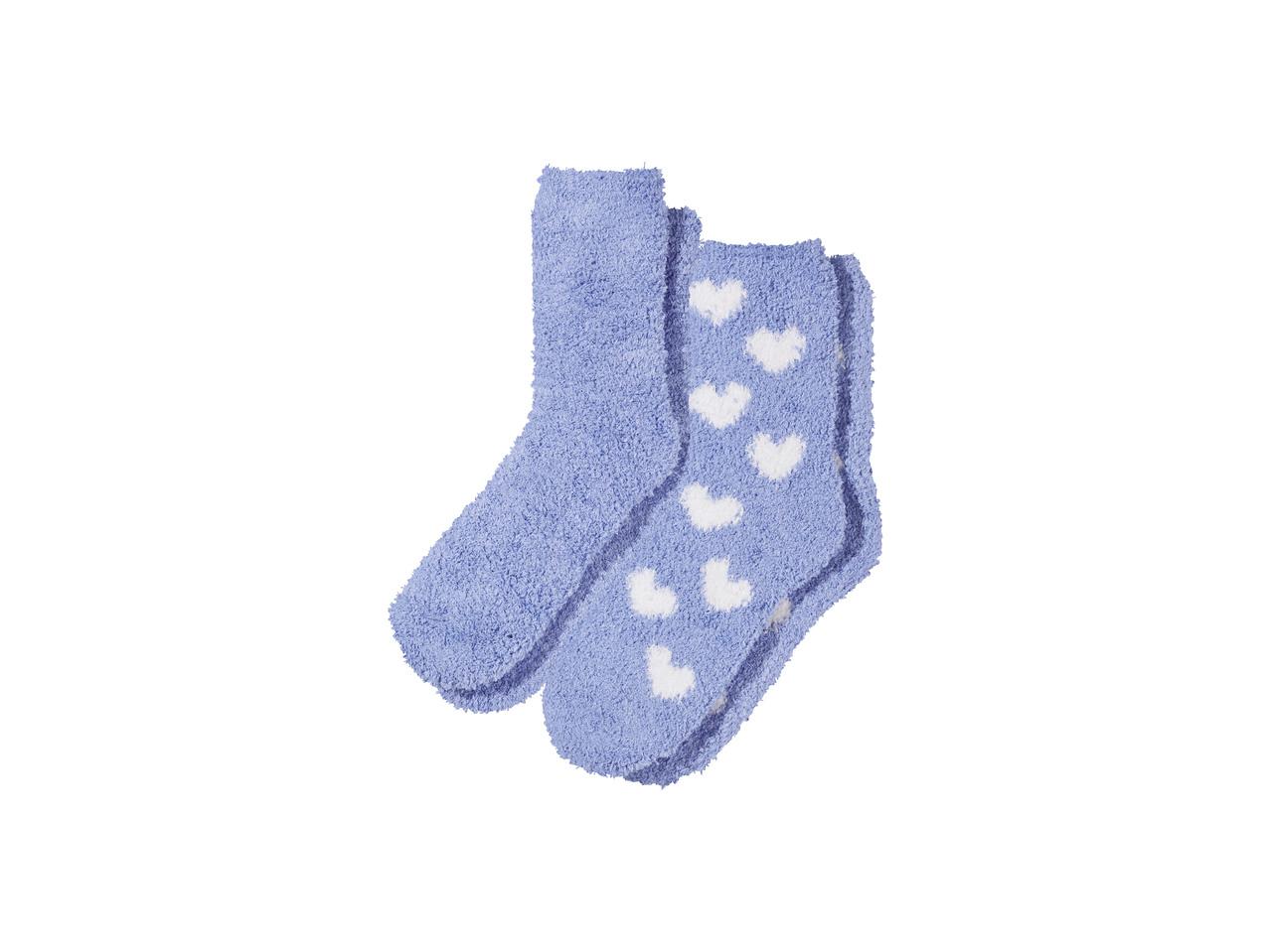 Plyšové ponožky Esmara
