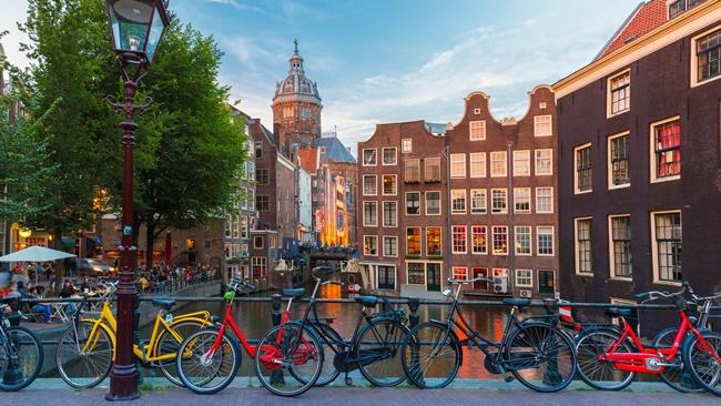 Průvodce po Amsterdamu | Dreamstime