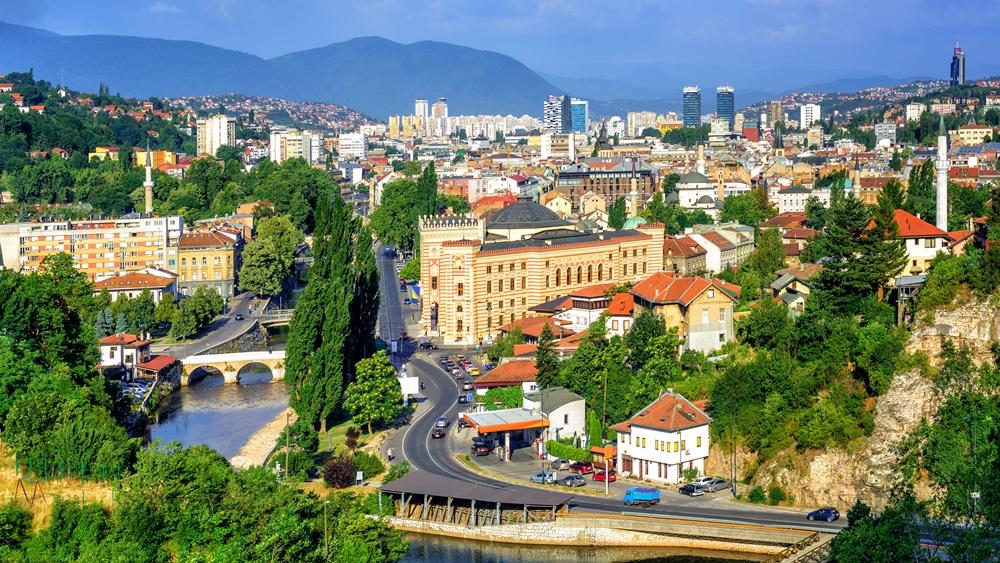 Průvodce po Sarajevu | Dreamstime.com