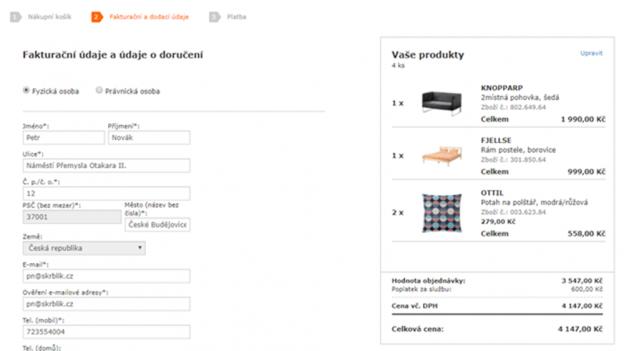 Recenze: E-shop IKEA Klikni adovezeme není zdaleka výhodný pro každého