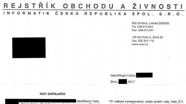 Pozor na Rejstřík obchodu aživnosti od společnosti Informatik