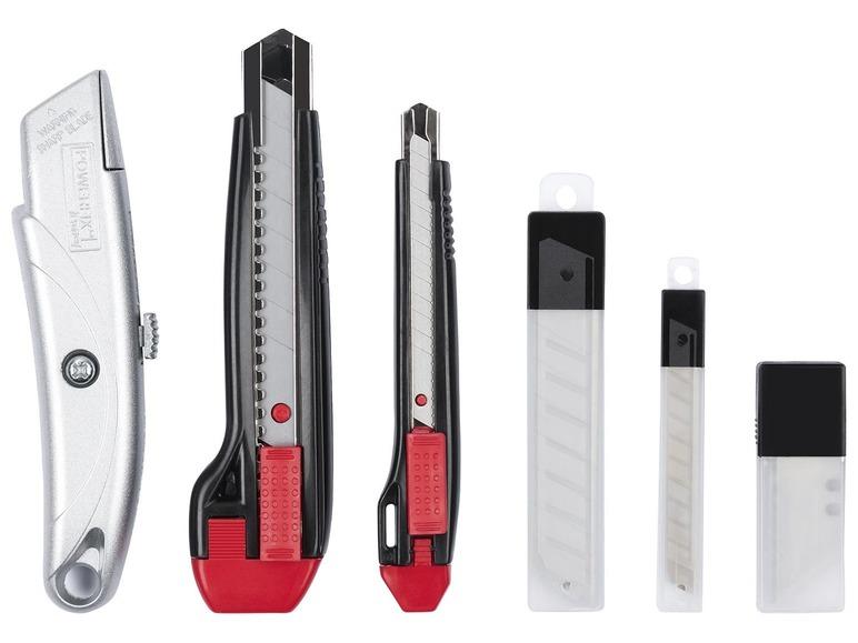 Sada zalamovacích nožů Powerfix