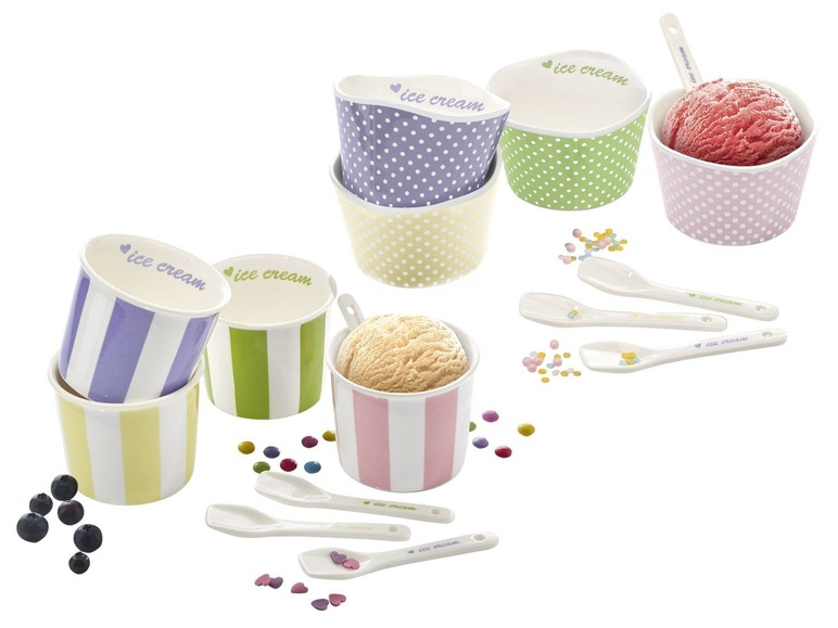 Sada zmrzlinových pohárků Ernesto