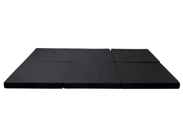 Skládací matrace pro hosty / sedací kostka Meradiso