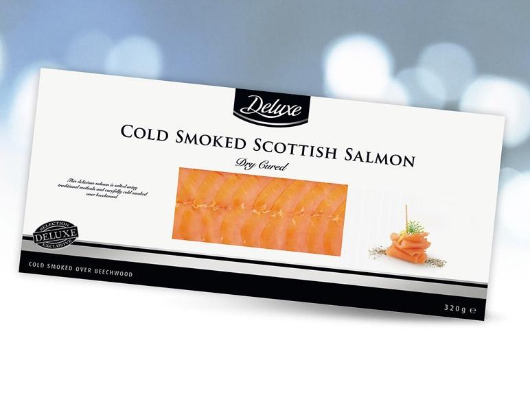 Skotský uzený losos Deluxe