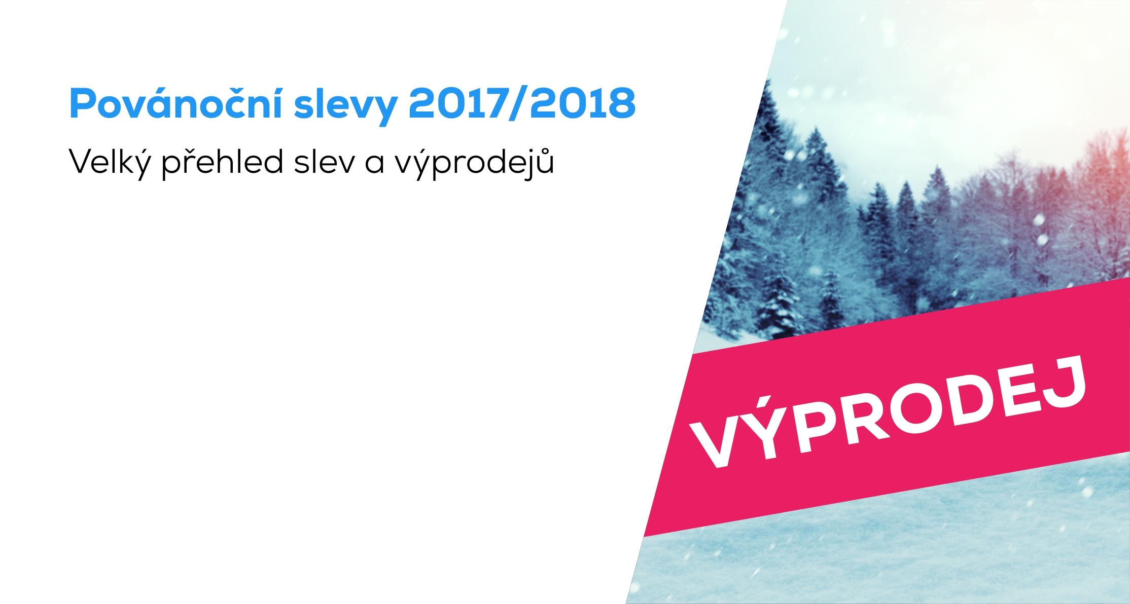 VELKÝ PŘEHLED  Povánoční slevy a novoroční výprodeje 2017 2018 (průběžně  aktualizujeme) 3ad44c09bb