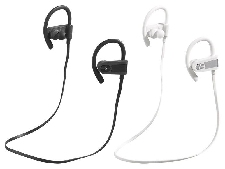 Sportovní Bluetooth sluchátka Silvercrest SISS 4.2 A1